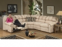 Recliner-Ends Sectional: