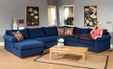Sectional w/Chaise Lounge: