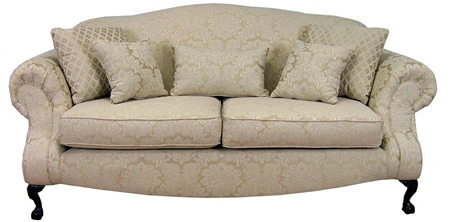 Traditional Queen Anne Formal Living Room Collection Sofa And Loveseat Ebay
