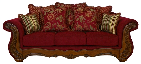 Sofa Loveseat Victorian French Reproduction Furniture