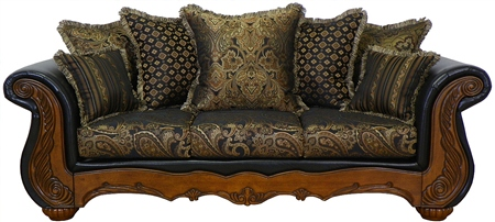 Sofa Loveseat Victorian French Reproduction Furniture Ebay
