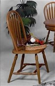 Dark Oak  Windsor Chair (2)