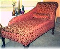 Queen Anne Chaise Lounge Couch