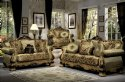 French Victorian Sofa and  Loveseat ~Imported