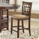 Randolph Cherry Barstool Chair (2)