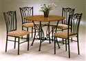 Heritage 5-piece Wood and Metal Dinette Set