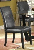 Venus Black Chair with set of 2
