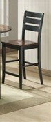 Ridgewood Barstool - Black and Mahogany Finish - 2