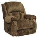 Catnapper Drifter Chaise Rocker Recliner in Truffl
