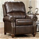 DuraBlend - Brindle Traditional Low Leg Recliner