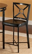 Diamond Black Barstool Set