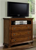 Elements Brook Media Chest - Chestnut BP450TVB