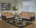 6451 Abigail Collection Sofa and Loveseat