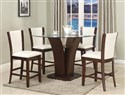 CAMELIA 5-Piece Counter Height Table Set