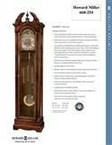 Howard Miller Burnett 660-254 Grandfather Clock