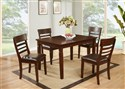 DINDC192D 5pc Wooden Dining Set
