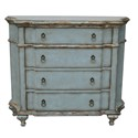 Pulaski - Accent Chest in Blue Color - 597027