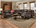 7-Piece Sectional: Faulkner Chocolate