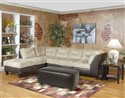 Sectional by Serta Upholstery - Padded Saddle