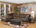 Sectional by Serta Upholstery -  Padded Walnut