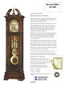 Howard Miller Ramsey Grandfather Clock - 611-084