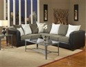 Trapper Sectional Trapper Black/VL Thunder/Lightni