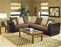 Trapper Sectional Trapper Brown/Bulldozer Java/Moc