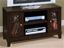 Sanibel TV Console - Fully Assembled! Cherry Finis