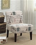 Paris Stamped Accent Chair