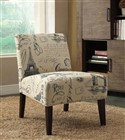 Beige Paris Postcard Accent Chair