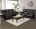 Torino Black Motion Sofa and Loveseat Collection
