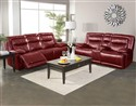 Torino Red Motion Sofa and Loveseat Collection