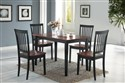 Oakdale 5pc Cherry Dinette Set