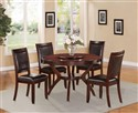 DIN9227 Brown Cherry Dinette Set