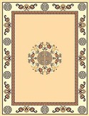 RT119 Taj Mahal Area Rug (6